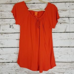 Joe Fresh Drawstring Neckline Top